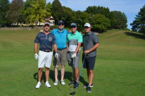 Matt, Tim, Rob and friend